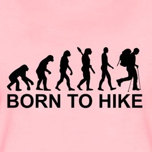 Born to hike - Women's Premium T-Shirt
