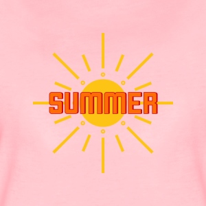 Sommar, sol, strand, party, semester - Premium-T-shirt dam