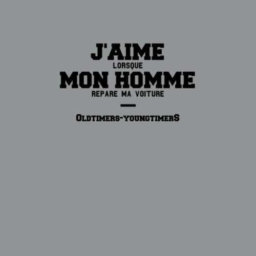 J'AIME MON HOMME - T-shirt Premium Femme