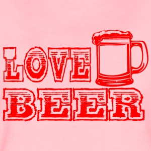 LOVE BEER red - Women's Premium T-Shirt