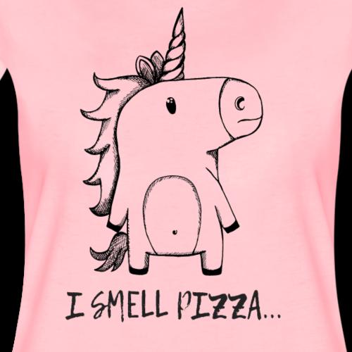 I smell Pizza - Unicorn - Frauen Premium T-Shirt