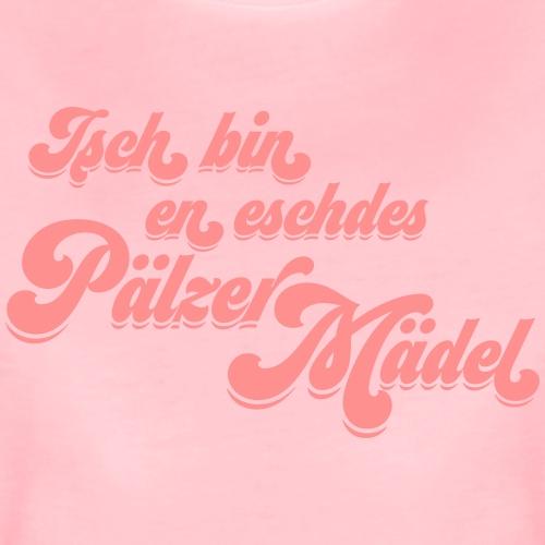 Isch bin en eschdes Pälzer Mädel - Frauen Premium T-Shirt