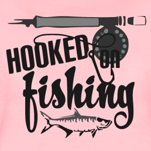 Hooked on Fishing - Fishing - Women's Premium T-Shirt