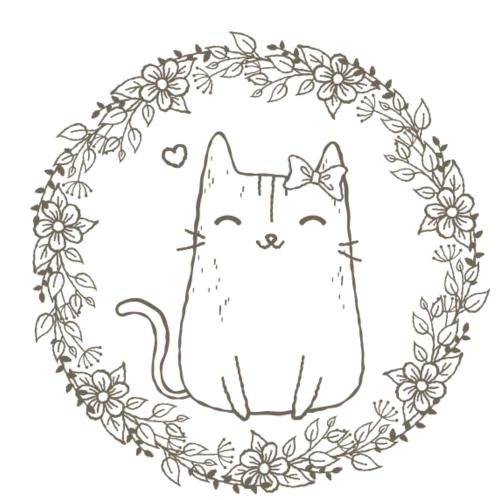 Katze Gretchen - Frauen Premium T-Shirt