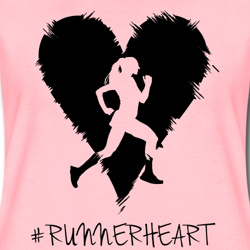 #Runnerheart Girl small - Frauen Premium T-Shirt