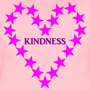 KINDNESS PINK - Frauen Premium T-Shirt