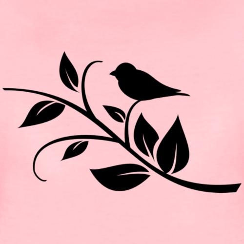 Vogel - Frauen Premium T-Shirt