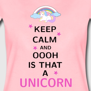Keep Calm and ooh is that a Unicorn - Women's Premium T-Shirt