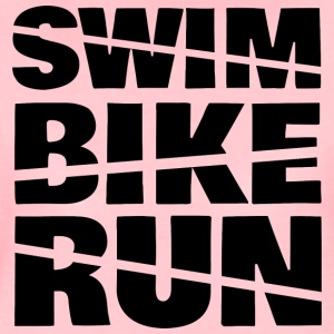 Swim Bike Run - Women's Premium T-Shirt