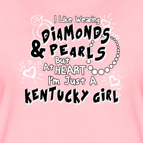 I Like Wearing Diamonds - Frauen Premium T-Shirt
