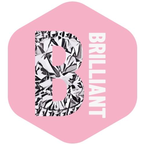 B brilliant pink - Vrouwen Premium T-shirt