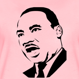 Martin Luther King Schablone - Frauen Premium T-Shirt