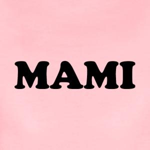 MAMI black rund - Frauen Premium T-Shirt