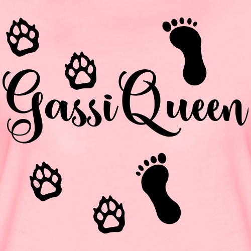 GassiQueen - Pfoten und Füße - Frauen Premium T-Shirt