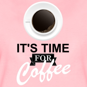 Coffee_time - Dame premium T-shirt