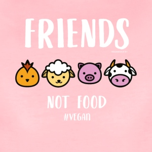 Friends Not Food #VEGAN - Women's Premium T-Shirt
