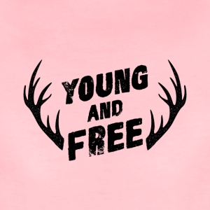 Young and Free - Frauen Premium T-Shirt