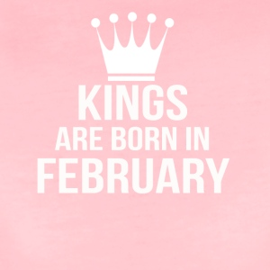 kings are born in february - Women's Premium T-Shirt