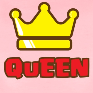 CROWN FAMILIY - QUEEN - Vrouwen Premium T-shirt