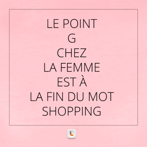 Le point G en mode shopping 2 - T-shirt Premium Femme