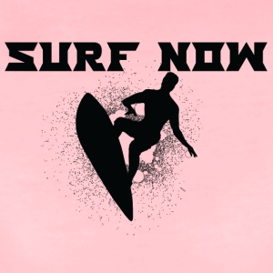 surf nu 02 sort - Dame premium T-shirt