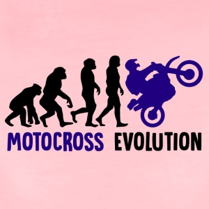 ++ ++ Motocross Evolution - Premium-T-shirt dam