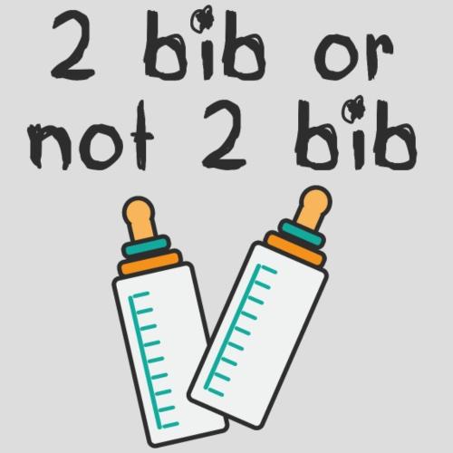2 bib or not 2 bib (by une Rousse à la Rescousse) - T-shirt Premium Femme