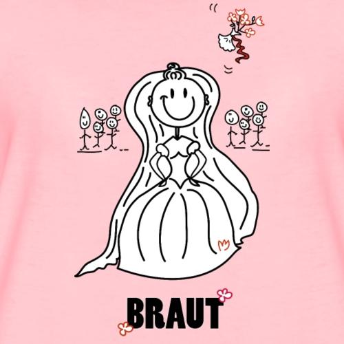 Braut Smilie - Frauen Premium T-Shirt