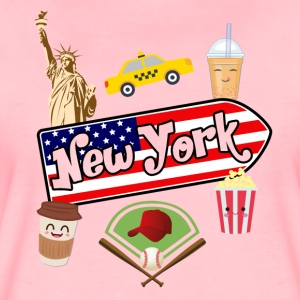 I love New York - Frauen Premium T-Shirt