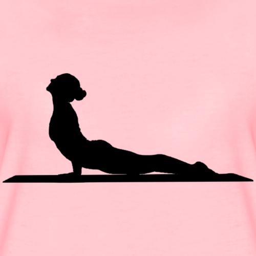 Yoga Morgengruß Frauen Entspannung - Frauen Premium T-Shirt