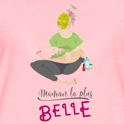 Maman la plus belle - T-shirt Premium Femme