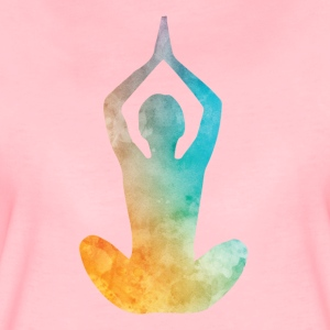 Yoga flowing energy - Women's Premium T-Shirt