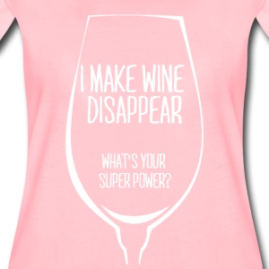 For all wine drinkers: I make wine disappear. - Women's Premium T-Shirt