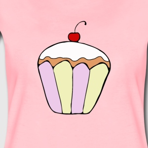 Cupcake cafe staff pastry lover sweet t-shirt - Women's Premium T-Shirt