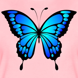 butterfly blue - Women's Premium T-Shirt