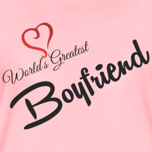 WORLDS GREATEST BOYFRIEND - Frauen Premium T-Shirt