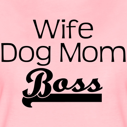 WIFE | DOGMOM | BOSS - Frauen Premium T-Shirt