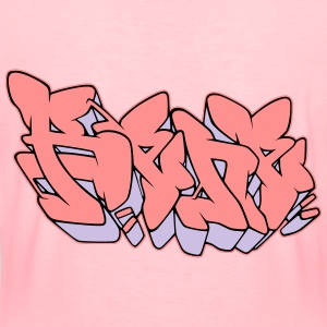 "Graffiti name ""Rene"" with Fill-in AllroundDesigns - Women's Premium T-Shirt"
