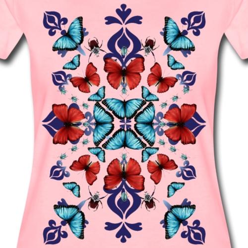Mix di farfalle - Maglietta Premium da donna