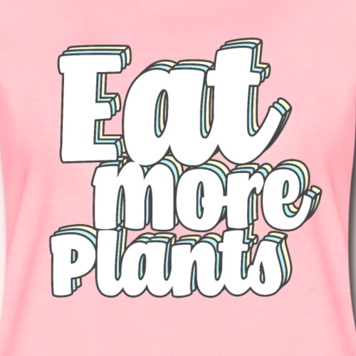 Veganer - Zitat Eat More Plants