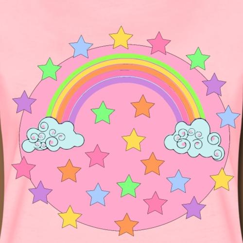 Kawaii Rainbow - Vrouwen Premium T-shirt