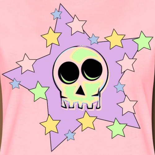 Skull Pastel Colours - Vrouwen Premium T-shirt