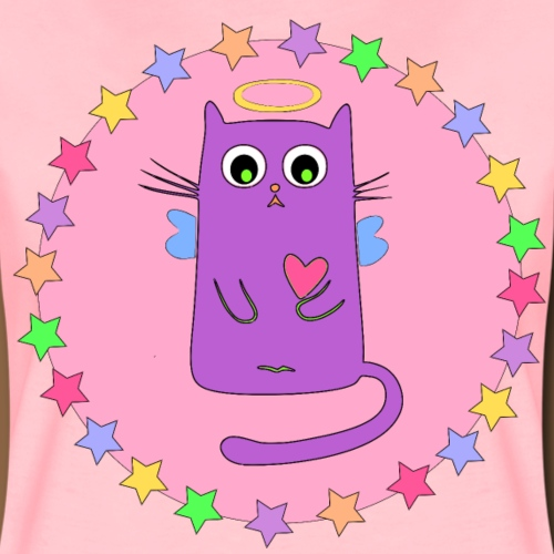 Kawaii Cat - Vrouwen Premium T-shirt