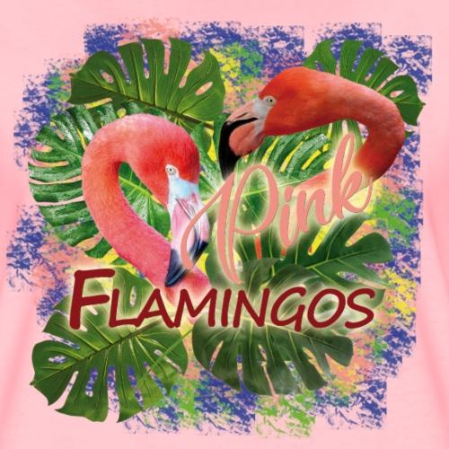 flamingos - Maglietta Premium da donna