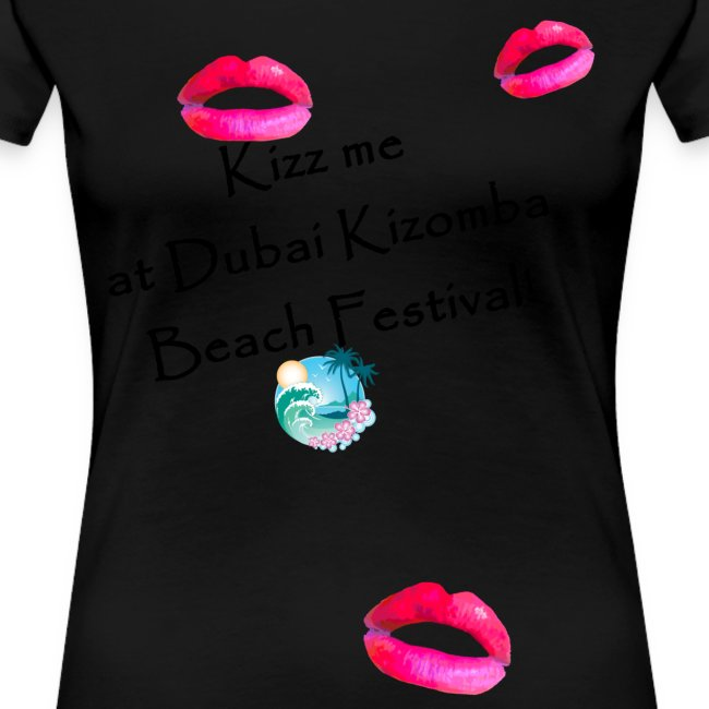 Perfect lips design black text variation 2