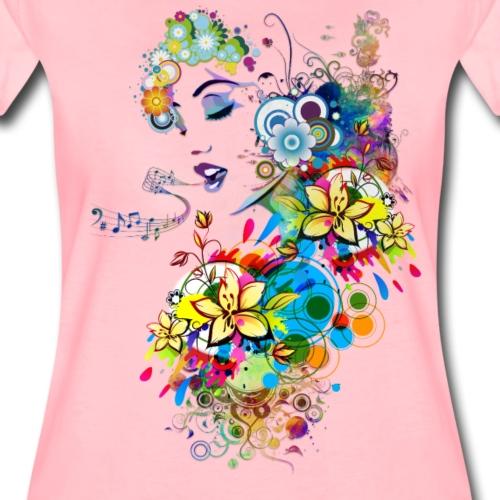 Lady singer - T-shirt Premium Femme