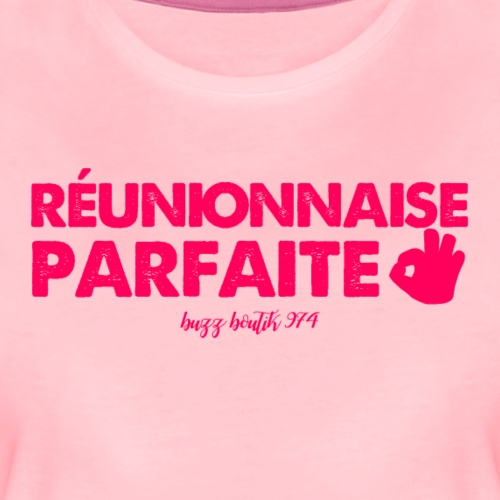 Collection Réunionnaise Parfaite - T-shirt Premium Femme