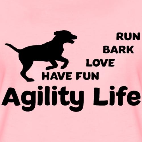 Hundesport Agility - Frauen Premium T-Shirt