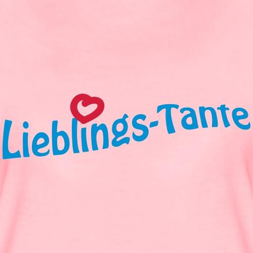Lieblingstante - Frauen Premium T-Shirt