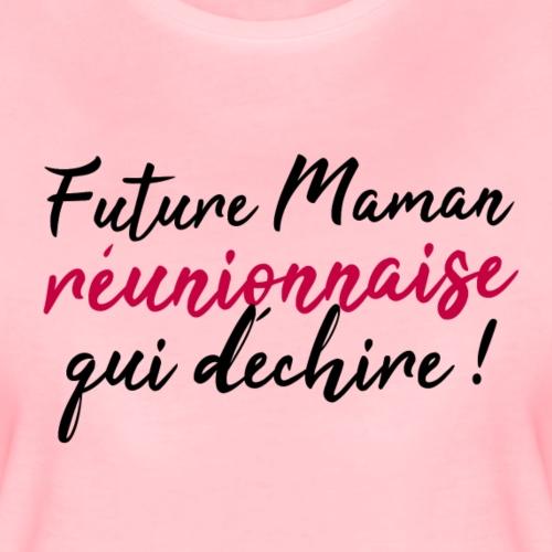 Future maman réunionnaise qui déchire - T-shirt Premium Femme
